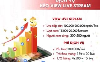 Bảng giá dịch vụ live stream facebook – Tăng lượt xem thật 100% dưới đây sẽ giúp bạn nắm rõ hơn để dự trù kinh phí hiệu quả. Hãy liên hệ với SINGO để sớm có được dịch vụ chất lượng, tiết kiệm chi phí hiệu quả ngay hôm nay! Live stream facebook- công cụ […]